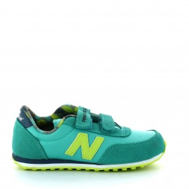 Zapatillas New balance Ke410z5y verde amarillo junior