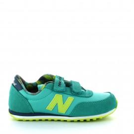 Zapatillas New balance Ke410z5y verde amarillo junior