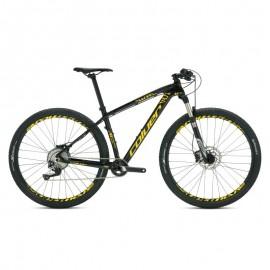 "Bicicleta Coluer Pragma 6.1 29"" 12v Crossride negro-amarillo"