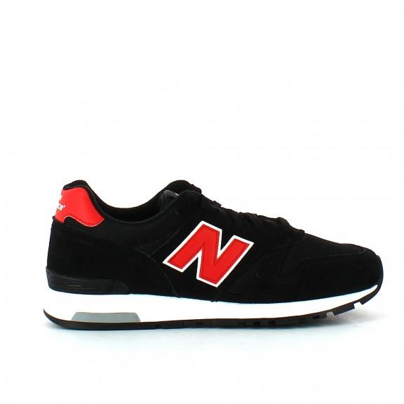 82c2f439daba5 Zapatillas New Balance Ml565Wb Negro Rojo Hombre - Deportes Moya