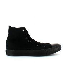 Zapatillas Converse All Star Hi negro monocolor unisex