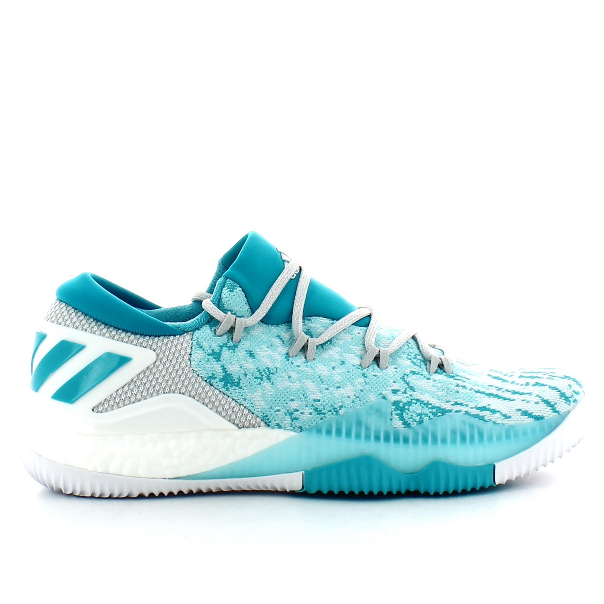 adidas Crazylight Boost Low 2016, Zapatillas de Deporte para