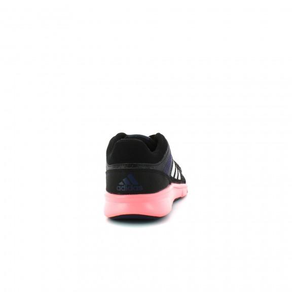 adidas negras y rosa