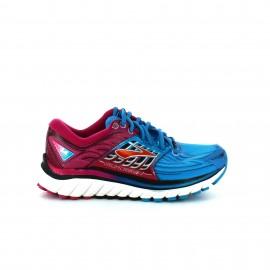 Zapatilla running  Brooks Glycerin 14 azul fuxia  mujer