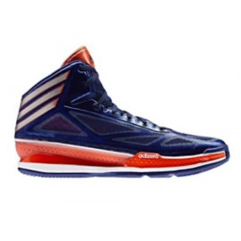 Zapatillas Adidas Adizero Crazy Light 3 azul royal naranja