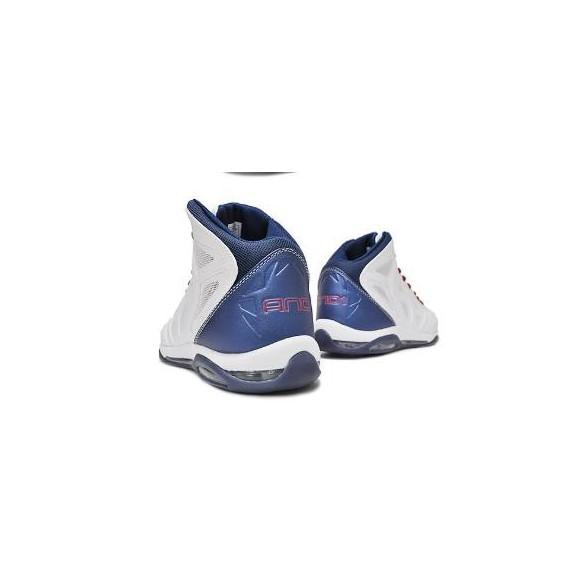 Zapatillas And1 Prime Mid Blanco Azul Rojo Hombre - Deportes Moya af82d1bf9ab