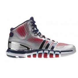 Zapatillas adidas Adipure Crazyquick plata azul rojo hombre