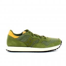 Zapatillas Saucony Dxn Trainer verde oliva mujer