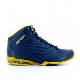 Zapatillas And1 Master 2 Mid azul amarillo hombre