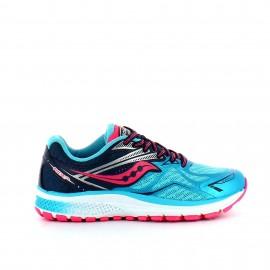 Zapatillas Saucony Sy-Girls Ride 9 azul rosa junior