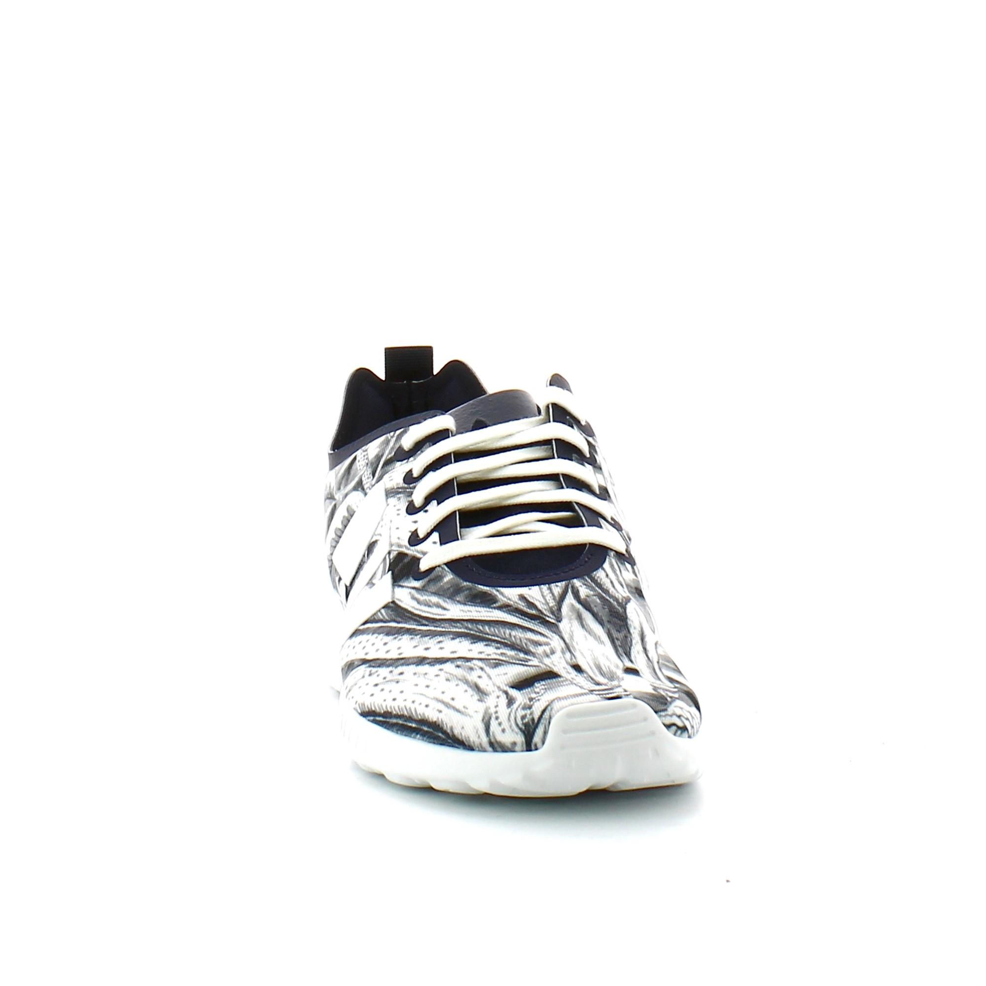 Zapatillas adidas ZX Flux Smooth W negro multicolor mujer