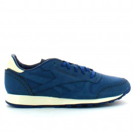 Zapatillas Reebok Classic Leather Lux Horween azul hombre