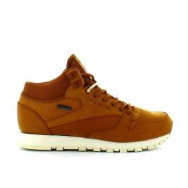 Zapatillas Reebok Classic Leather Mid Goretex marron hombre