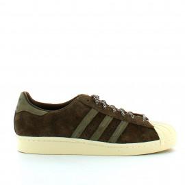 Zapatillas Adidas Superstar 80s  marron hombre