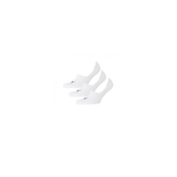 Calcetines Puma footie 3p unisex blanco
