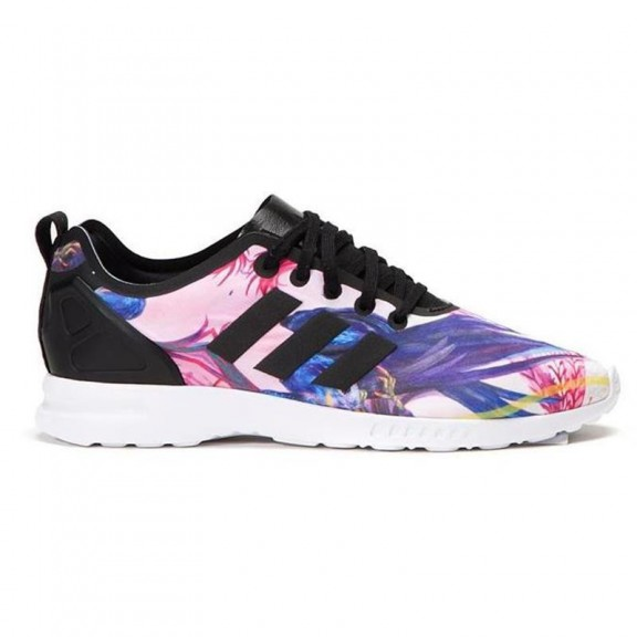 competitive price b7100 2d7e6 Zapatillas adidas ZX Flux Smooth W negro multicolor mujer
