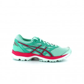 Zapatillas Asics Gel Cumulus 18 GS verde junior