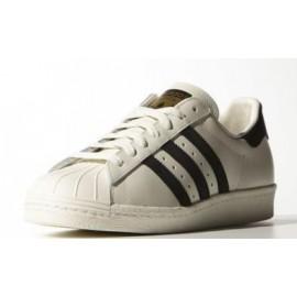 Zapatillas Adidas Superstar 80s Dlx vintage blanco negro