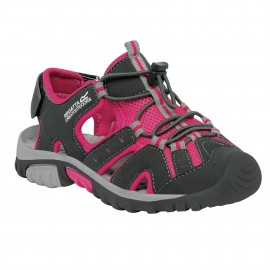 Sandalias montaña Regatta Deckside rosa niña niño