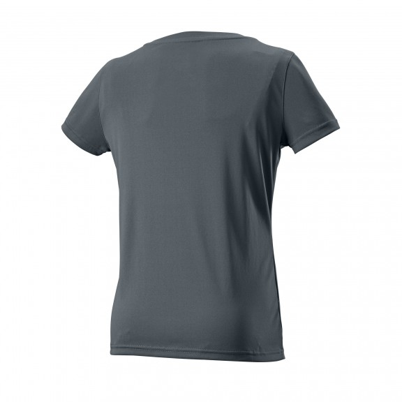 Camiseta tenis Wilson Rorschach tech tee gris mujer