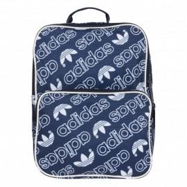 Mochila adidas BP CL M AC azul y blanco