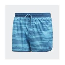 Bañador Adidas Allover print azul hombre