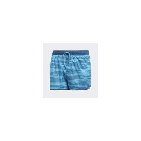 ef3f17cbdb72 Bañador Adidas Allover Print Azul Hombre