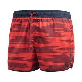 Bañador Adidas Allover print rojo hombre