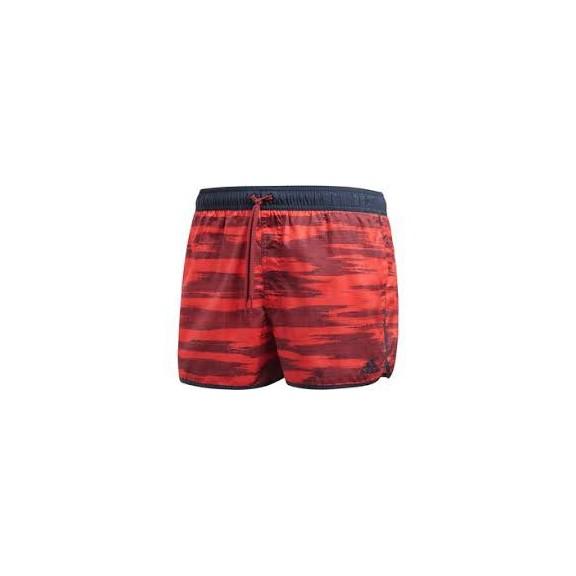 b629a158f Bañador Adidas Allover Print Rojo Hombre - Deportes Moya