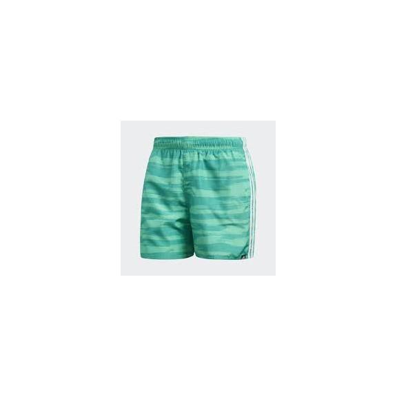 17f053284 Bañador Adidas Allover Print 3 Bandas Verde Hombre - Deportes Moya
