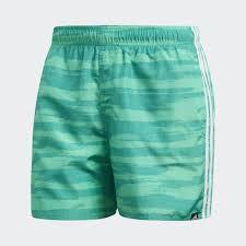 18a645a206a4 Bañador Adidas Allover Print 3 Bandas Verde Hombre - Deportes Moya