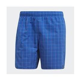 Bañador Adidas Chekered sh sl azul hombre