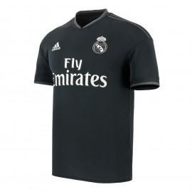 Camiseta fútbol Adidas Real Madrid 2018/19 2ª negra hombre