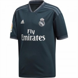Camiseta fútbol Adidas Real Madrid 2018/19 2ª negro junior