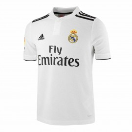 Camiseta fútbol adidas Real Madrid 2018/19 1ª blanca junior