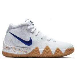 Zapatillas de baloncesto Nike Kyrie 4 blanco/azul junior