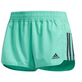 Pantalón running adidas DM2 woven short verde mujer