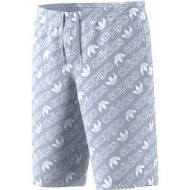 Pantalón adidas AOP shorts celeste hombre
