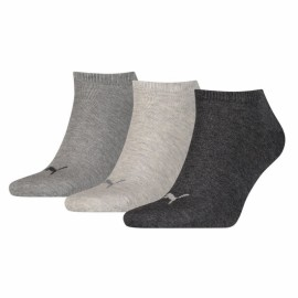 Calcetines Puma Sneaker plain pack 3 antracita y gris
