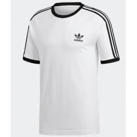 Camiseta Adidas 3-Stripes tee blanca hombre