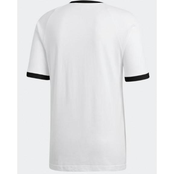 Camiseta 3 Deportes Tee Adidas Stripes Moya Hombre Blanca qqrS5w