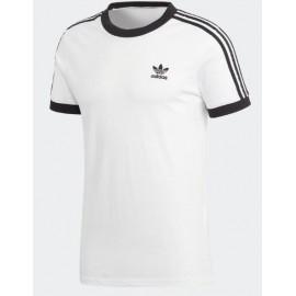 Camiseta adidas 3-Stripes tee blanca mujer