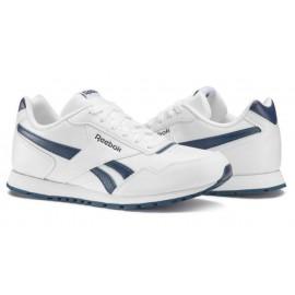 Zapatillas Reebok Royal glide Syn blanca/azul junior