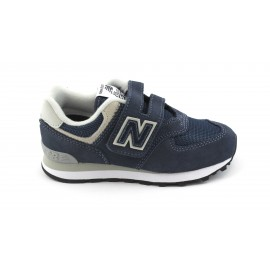Zapatillas New Balance YV574GV velcro marino junior