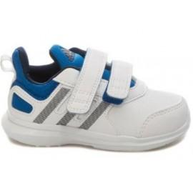 Zapatillas Adidas Hyperfast 2.0 Cf I blanco azul bebe