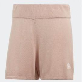 Pantalón Adidas 3 Stripe short rosa mujer
