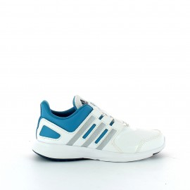 Zapatillas adidas Hyperfast 2.0 K blanco azul junior