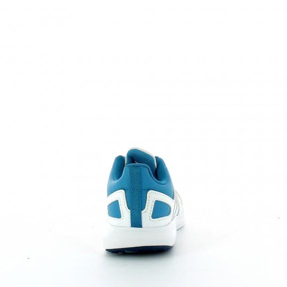 21736cad2 Zapatillas Adidas Hyperfast 2.0 K Blanco Azul Junior - Deportes Moya