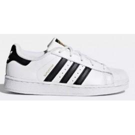 Zapatilas Adidas Superstar blanco/negro niño