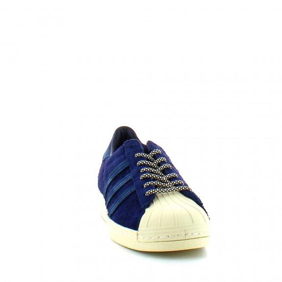 fffcfc75e0f1e Zapatillas Adidas Superstar 80S Azul Unisex - Deportes Moya